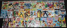 Marvel Bronze-Modern IRON MAN 387pc Mid-High Grade Comic Lot VF-NM Avengers