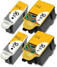 4 PK For Kodak 30XL Black Ink Cartridges For Hero 5.1 4.2 ESP C310 C315 3.2s