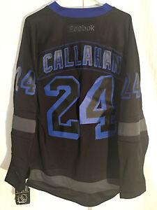 Reebok Premier NHL Jersey New York Rangers Ryan Callahan Black Black Ice sz S
