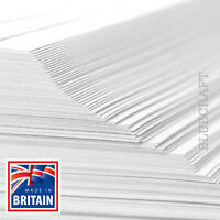 10 sheets x A3 Thick White Printer Crafting Card 400gsm - 297 x 420mm