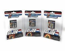 World's Smallest GI Joe vs. Cobra Micro Action Figures (Set of 3)