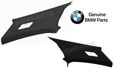 BMW E46 323Ci M3 Coupe Black Pair Set of 2 Rear Inner Pillar Trim Panels Genuine