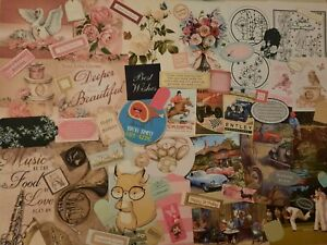 CRAFTROOM CLEAROUT CARD MAKING TOPPERS AND SENTIMENTS NICE MIXED LOT SET L