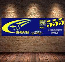 subaru impreza wrx Garage Banner PVC Sign, Workshop, office, pit lane, man cave