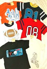 Nwt Crazy 8 Boys 5-6 Lot T-shirts Top Polo Football Bike Surf Summer Clothes New