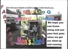 Spend your pennies on a VIPee. At Alford & District Men's Shed.