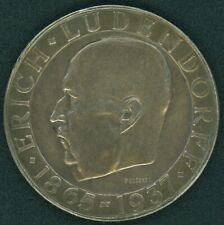 DR 1937 Medaille Silber, Ludendorff, ca. 22g, Ø35mm, VZ