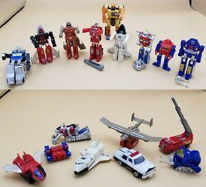 bandai Gobots 1980s vintage lot 10 transforming robots Takatoku