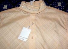 Nwts Ladies Wellington Collection by Charles Owens Riding Shirt Size 38 Peach