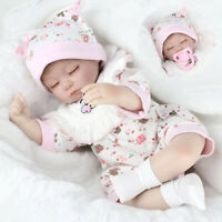 16'' Realistic Lifelike Reborn Baby Doll+Clothes Sleeping Newborn Girl