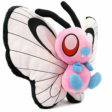"""Pokemon Center Pink Shiny Butterfree 12"""" anime figure Plush Toy Doll Collectible"""