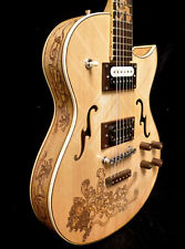 Blueberry Special Order Handmade Electric Hollow Body Guitar 3 month delivery