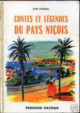 CONTES & LEGENDES DU PAYS NIçOIS. NATHAN. 1966.