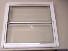 G/E Refrigerator Glass Tuckaway Shelf Wr32X10096 used
