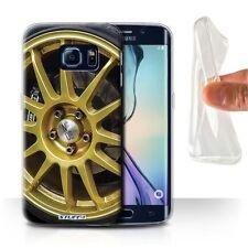 Étuis, housses et coques noirs Samsung Galaxy S6 edge en silicone, caoutchouc, gel pour téléphone mobile et assistant personnel (PDA)