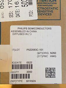 BFR92A RF transistor, an unbroken box with 3000 pcs.