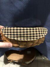 New Listinground longaberger basket