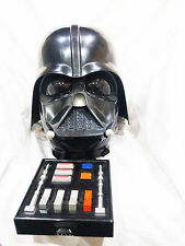 Darth Vader Electronic Voice Changer Helmet 2004 working! awesome display item