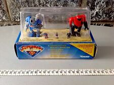 Superman Kryptonian Battle Suit VS Lexoskel Kenner Lex Luthor 90s Mosc