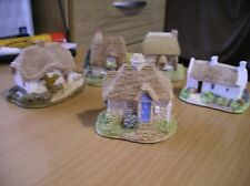 Lilliput Lane English Collection 5 small cottages 1990's no boxes