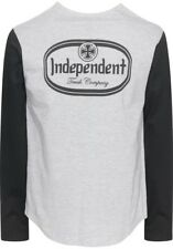 Independent Trucks Parcel Baseball Longsleeve Black/Heather Grey Größe S