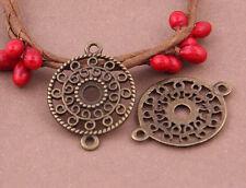 20pc retro bronze (connecteur) bead charms accessoires en gros PJ2170