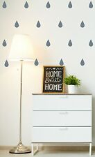 Raindrop Wall Sticker Wall Decal - 56 stickers per pack