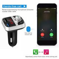 Kit de voiture sans fil Bluetooth transmetteur FM MP3 USB LCD mains libres pour