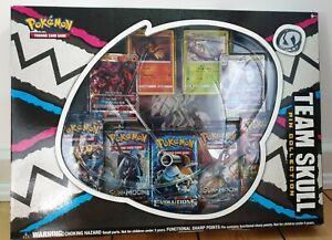 Pokemon Team Skull Pin Collection English - Evolution - Burning Shadow Sealed
