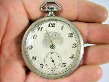 Ancienne Montre gousset mécanique Fab Suisse Chronometre CIWIS fonctionne