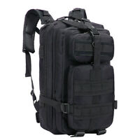 30L Molle Outdoor Military Tactical Bag Camping Hiking Trekking Backpack