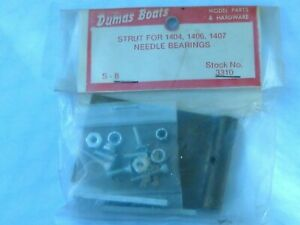 Dumas Boats Strut for 1404,1406,1407 w/ Needle Bearings 3310-S-8 NEW