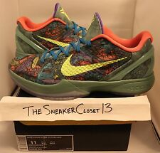 Kobe 6 Prelude Sz 11 vi x htm grinch bhm big stage purple fade 9 8 7 5 4 3 2 ftb
