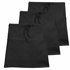 "3-Pack Chef Code 19"" Long Half Waist Apron Cc516"