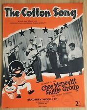 Sheet Music - The Cotton Song - Chas McDevitt Skiffle Group #79