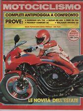 8 1983 - MOTOCICLISMO - KAWASAKI GPz 750 - SUZUKI GR 650 - SWM XN 350 - MALAGUTI