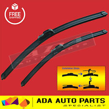 Frameless Windscreen Wiper Blades For Toyota Prado 120R 03-09 (PAIR)