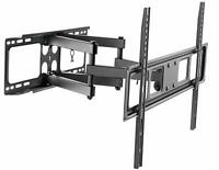 "Husky Mount Full Motion TV Wall Mount Bracket Fits Most 32""-70"" LED LCD Flat"