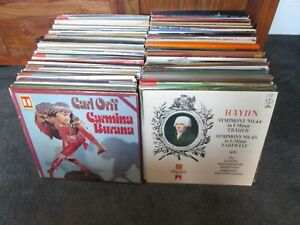 JOB LOT 190 CLASSICAL RECORDS AND BOX SETS, ALL IN NEAR MINT CONDITION ALL LP`S