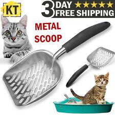 Cat Litter Scoop Metal Litter Shovel Scoop Sifter Deep Cleaner Cleaning Tool Box
