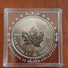 2018 Canada $5 Fabulous 15 F15 Privy Mark Silver Maple Leaf Coin #coinsofcanada