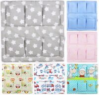 ORGANISER BABY TIDY COT BED CRIB NURSERY HANGING STORAGE MANY DESIGNS BABYMAM