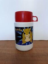 Vintage 1998 Nintendo Pokemon Thermos Used