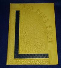 1939 Atlantic Christian College Pine Knot Wilson North Carolina Annual Yearbook