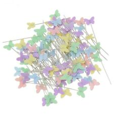 Patchwork Pins Butterfly Quilting Crafts Head Safety Handcrafts Supplies Needles