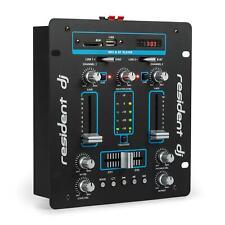 Mixer DJ Canali Amplificatore Bluetooth Console Rack Disco Stereo Karaoke Blu