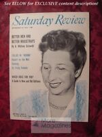 SATURDAY REVIEW November 10 1956 RUTH MOORE A. WHITNEY GRISWOLD JOHN HAVERSTICK