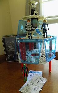 1966 Mattel Major Matt Mason SPACE STATION with BOX - Complete & Near Mint !!