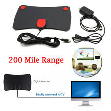 1000 Miles Digital TV Antenna Indoor Aerial Signal Amplified 4K HDTV HD Freeview