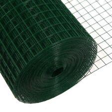 Maschendraht grün 1m x 25m 25x25mm 1.45mm Volierendraht Drahtgitter Gartenzaun